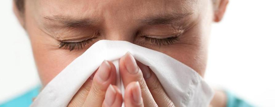 Kihanje alergija