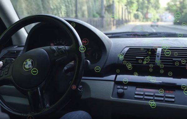 Avtomobilski ionizator zraka