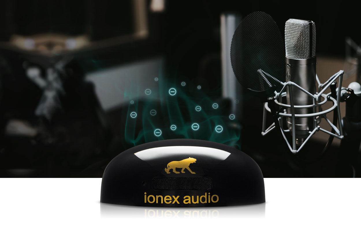 Ionex in a recording studio