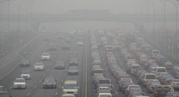 Smog v mestu