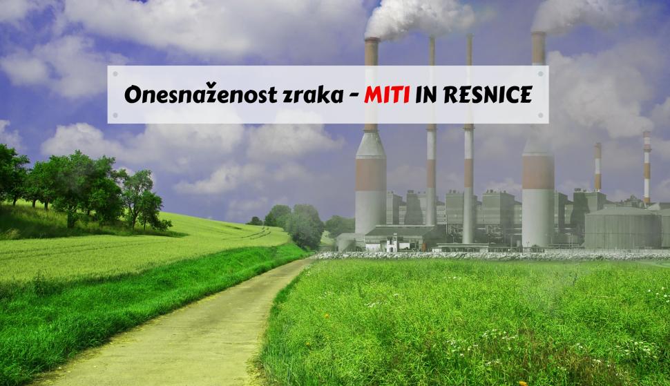 kakovost zraka miti in resnice