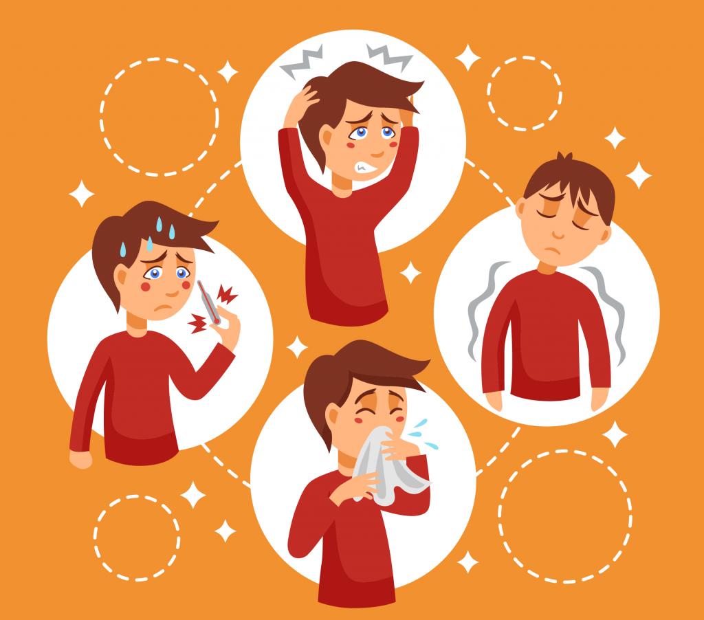 simptomi prehlada