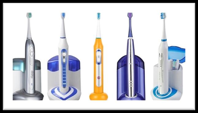 ultrasonična zobna ščetka skupina