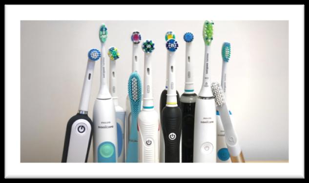 električne zobne ščetke v skupini