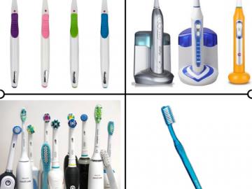 Ionska zobna ščetka – delovanje in učinkovitost v primerjavi z ostalimi vrstami zobnih ščetk.